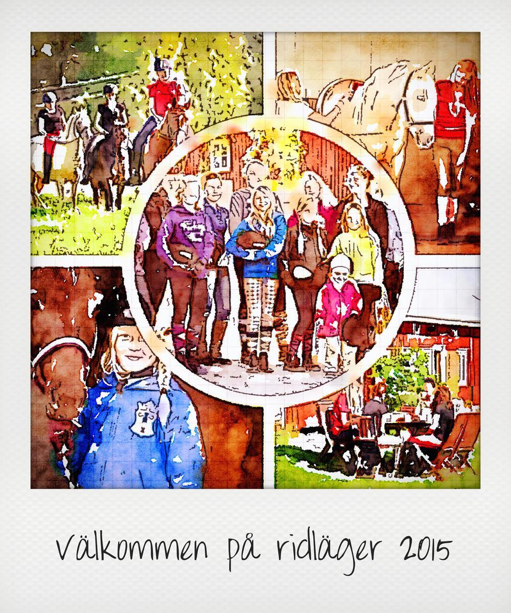 Ridläger Ratsastusleiri 2015 Vaasa Vasa Korsholm Mustasaari