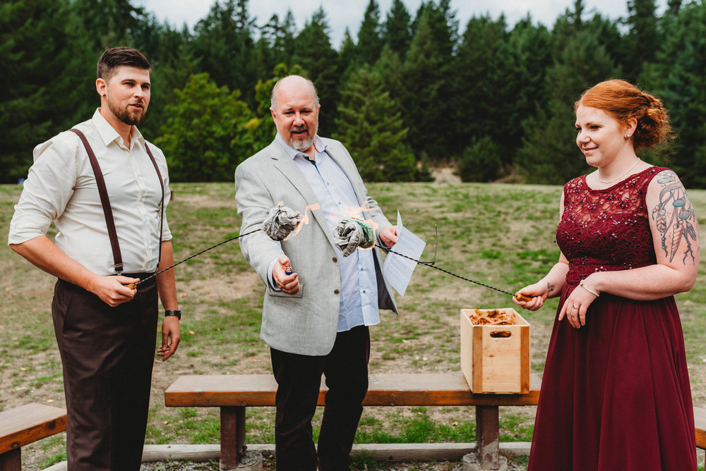 SAMANTHA + BRYCE // GOLDSTREAM PARK WEDDING