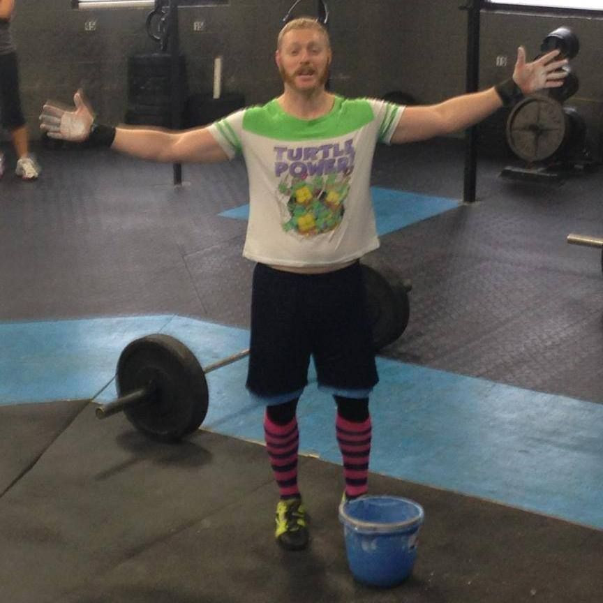 Dressed up for the Hero WOD Big Country