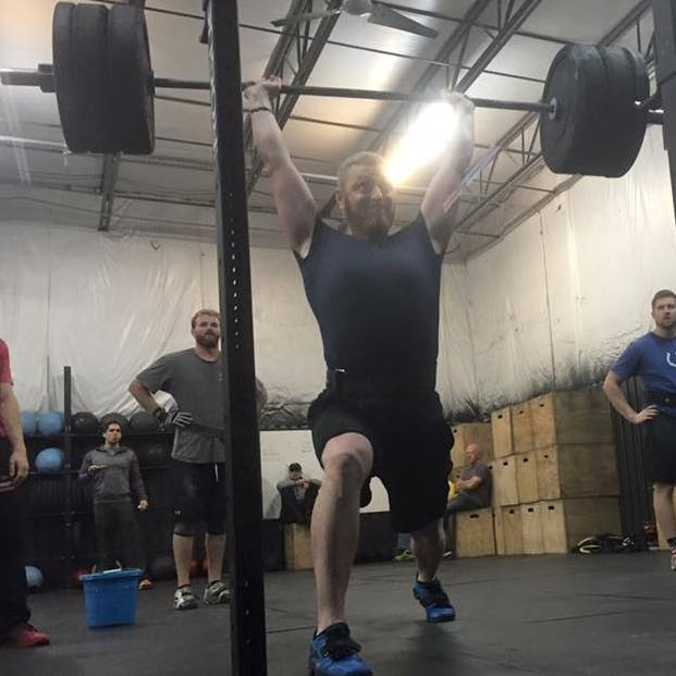 Hitting a Personal Record at CrossFit Cornerstone Voice Of America Partner Games
