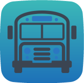 Manage your bus routes in real-time with geolocation and biometric controls.
