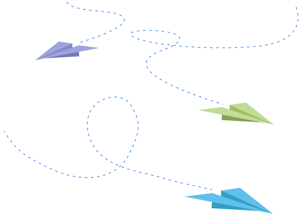 Carmen Villamor Paper Plane