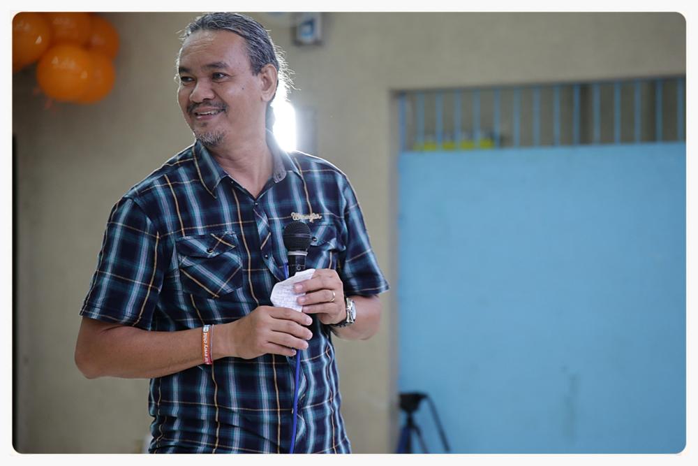 Director Mario Victor 'Dong' Baang