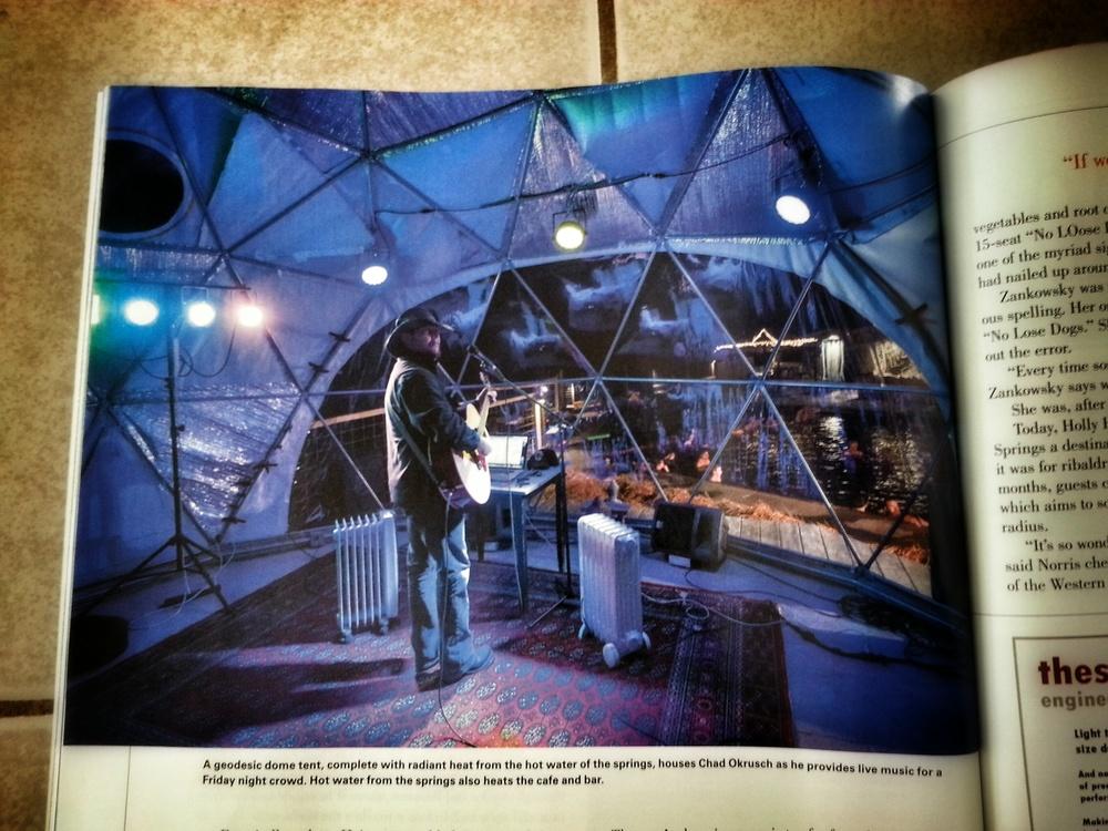 Montana Quarterly Norris Hotsprings Feature