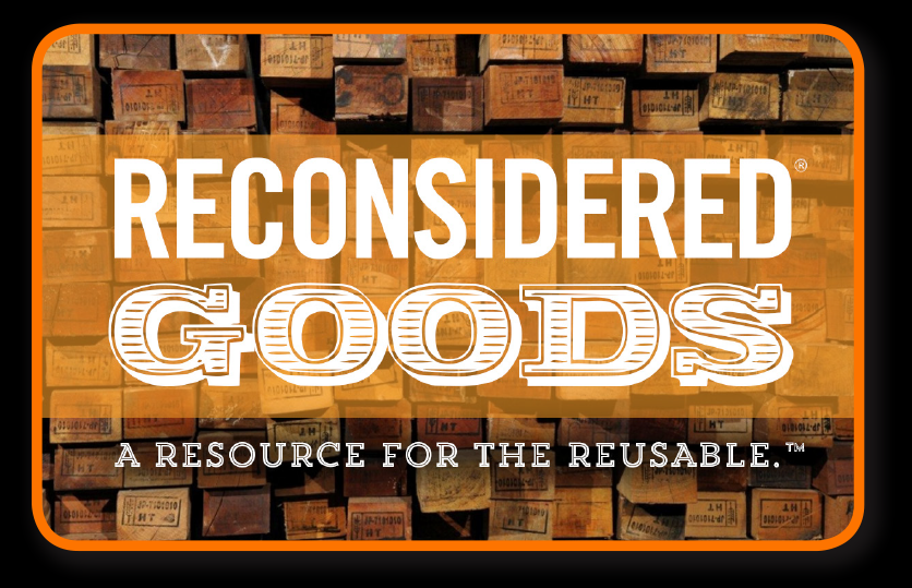 Reconsidered Goods -