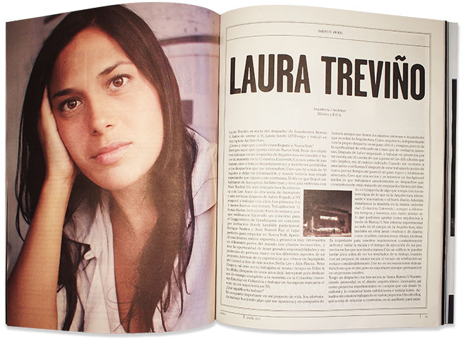 Laura Trevino in Animal Magazine