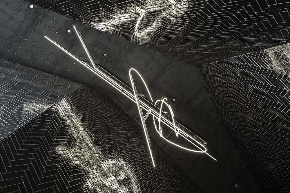 National Sawdust by Bureau V | Lobby Chandelier Photograph by Floto + Warner