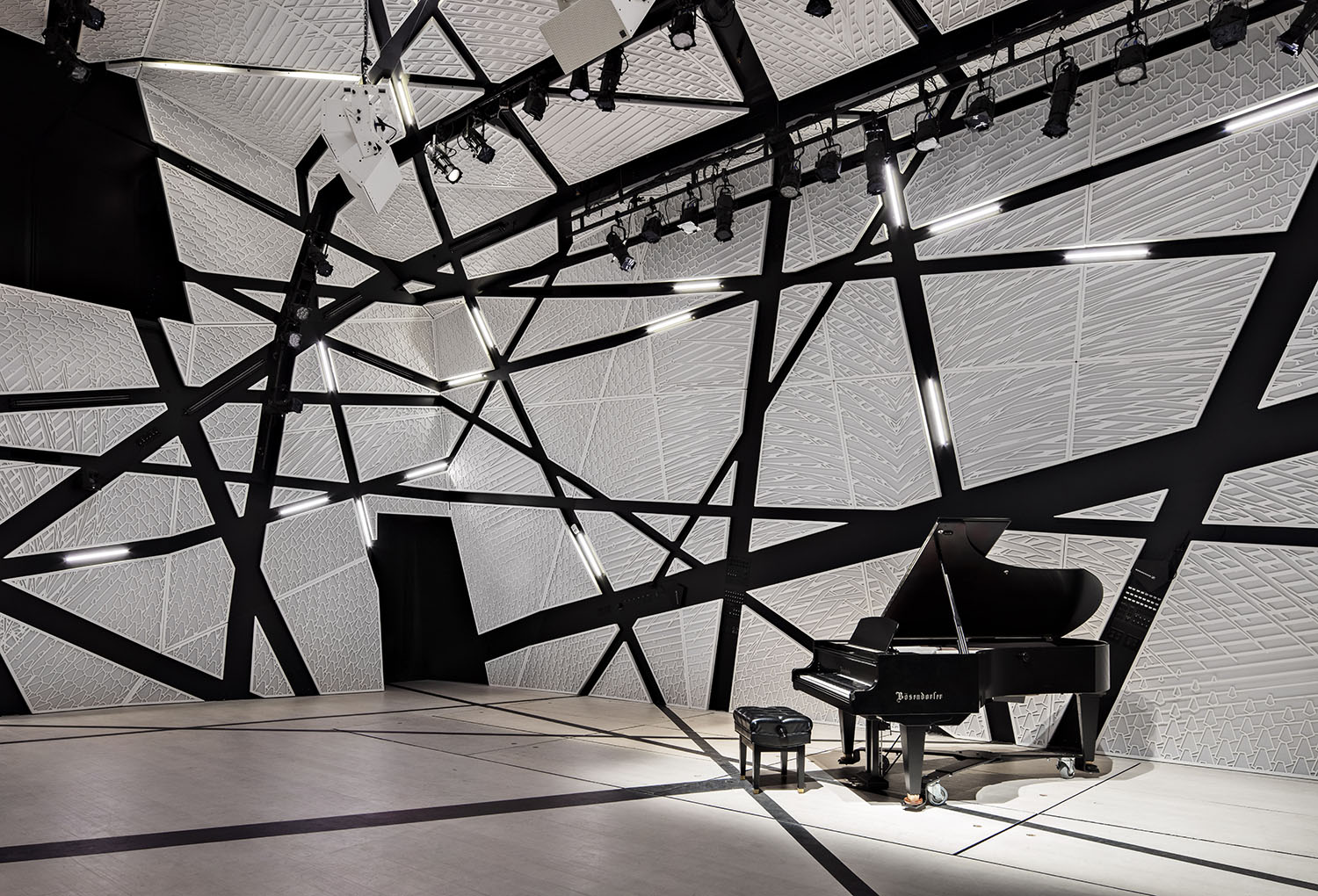 National sawdust designed by bureau v nonprofit chamber music hall
