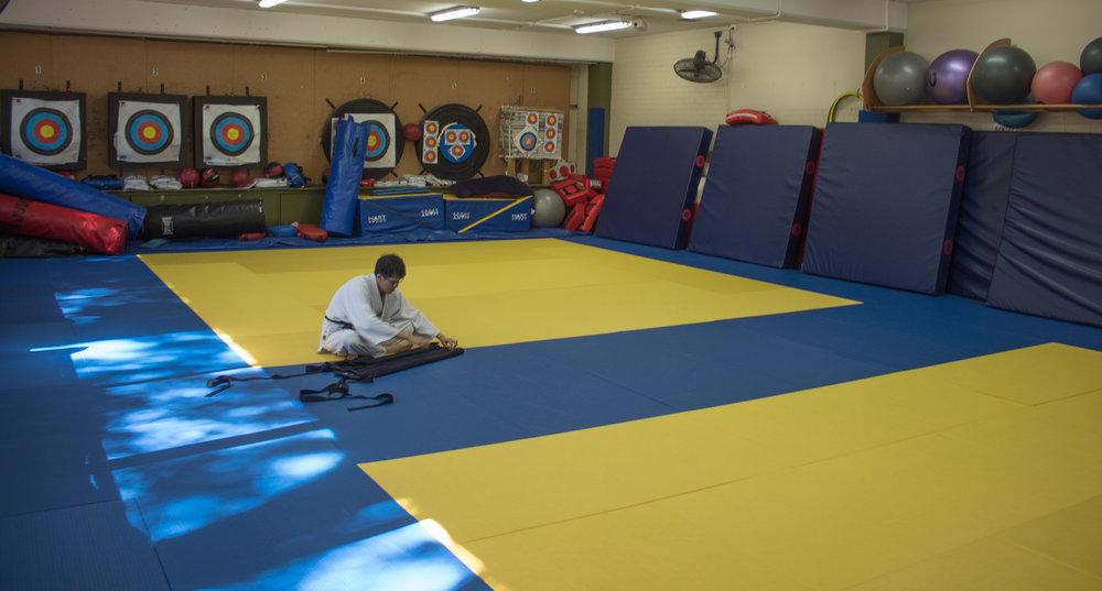 Aikido Dojo - Folding Hakama.jpg