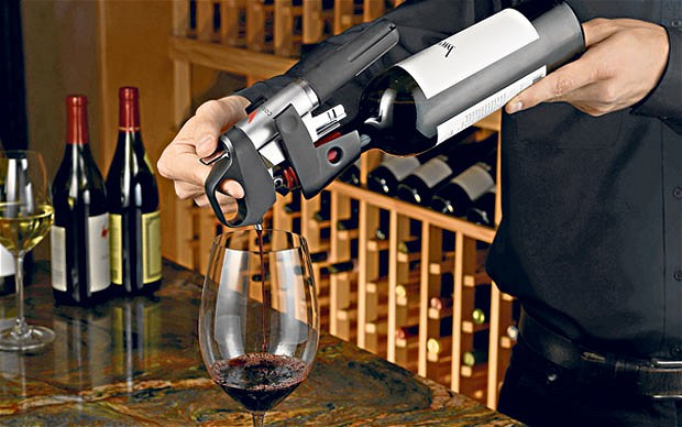 Pour Wine Without Pulling the Cork!
