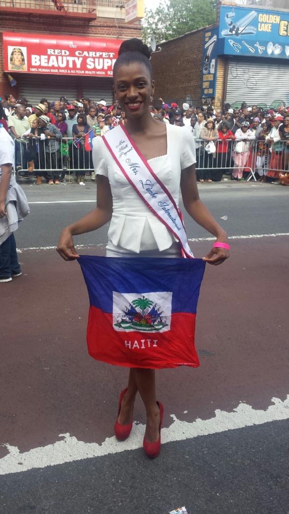 Proud Haitian-American woman