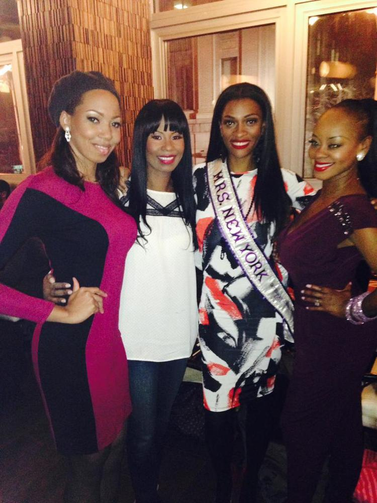 Kiana, Andrea, myself and Ceylone---Pageant Sisters