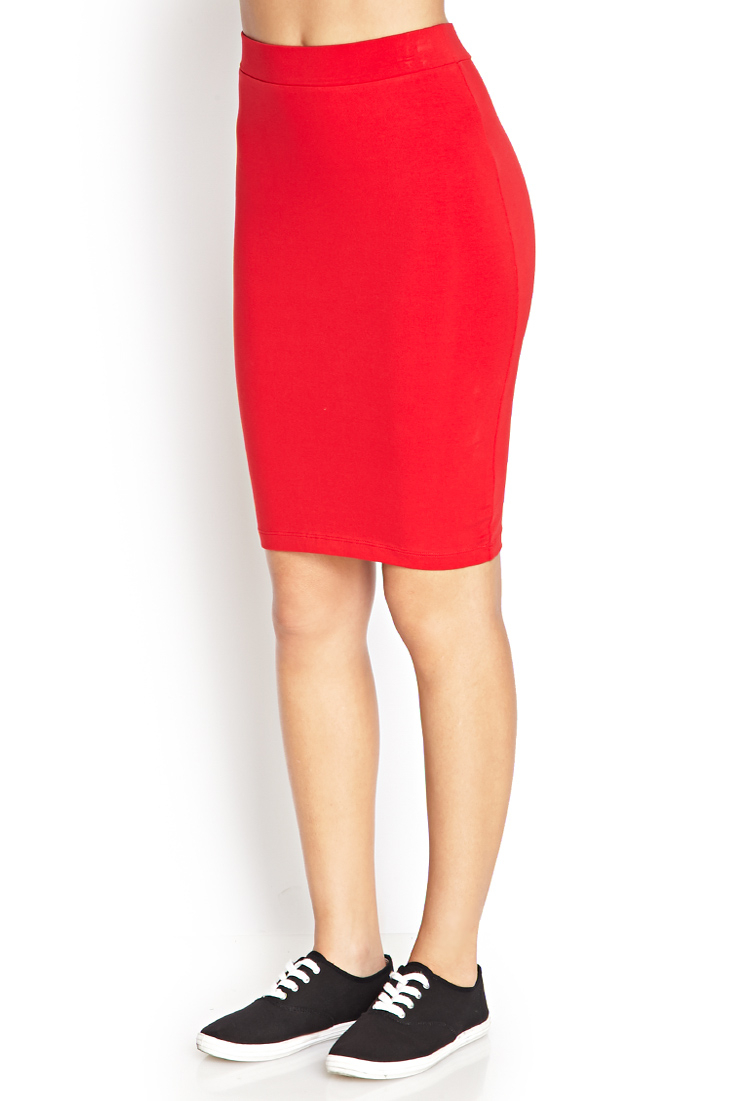 Forever 21 Red Pencil Skirt ---Click on picture for a link to skirt