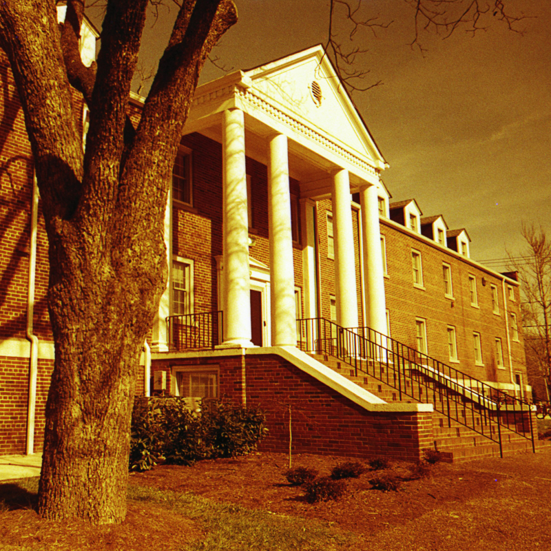 Medlin Hall, my old dormitory at  Lee University  (formerly Lee College).