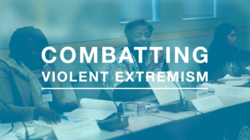 Combatting Violent Extremism - In celebration of International Women's Day, the U.S. Institute of Peace hosted a meeting of 12 civil society leaders from India, Indonesia, Kenya, Nigeria, Pakistan and Tanzania on Friday, March 6th, to discuss lessons learned in their work preventing violent extremism in their communities.