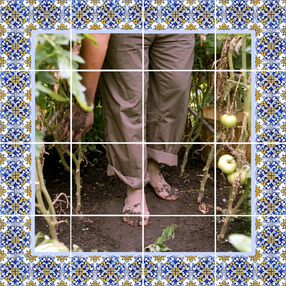 Azulejos #5 (Feet), 2007