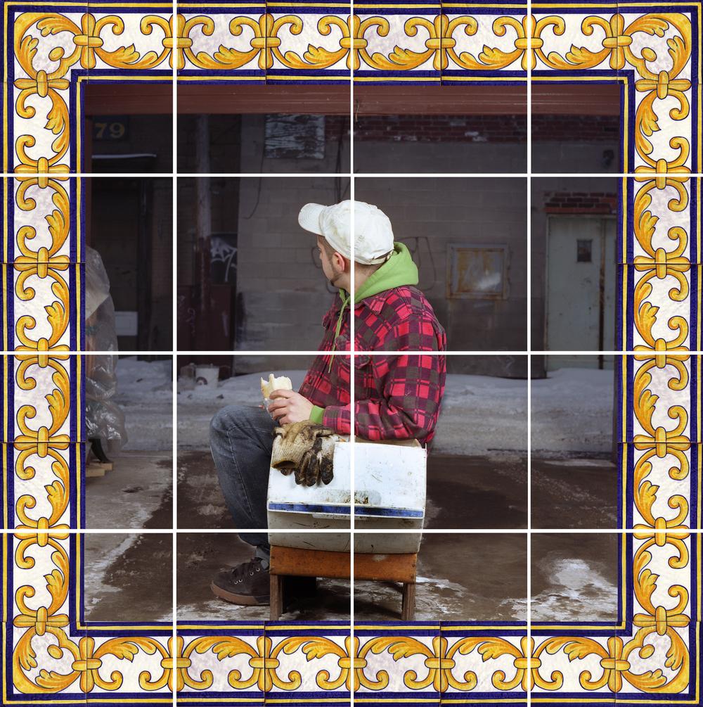 Azulejos #3 (Garage), 2007