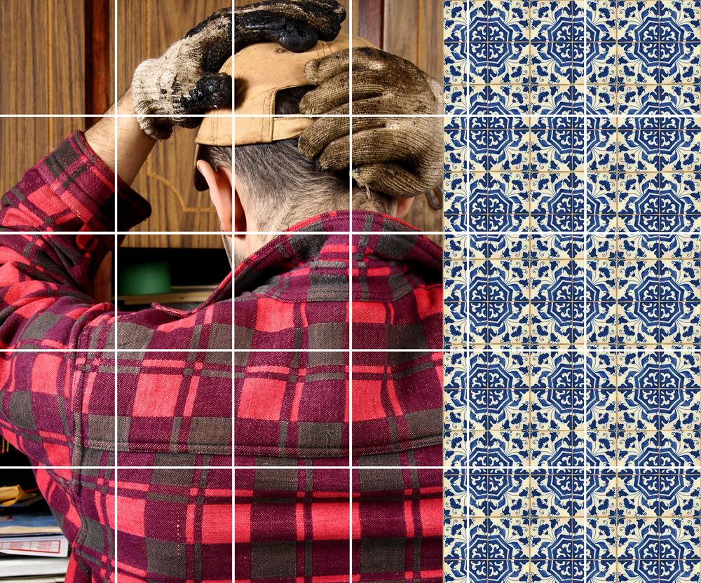 Azulejos #2 (Gloves), 2007
