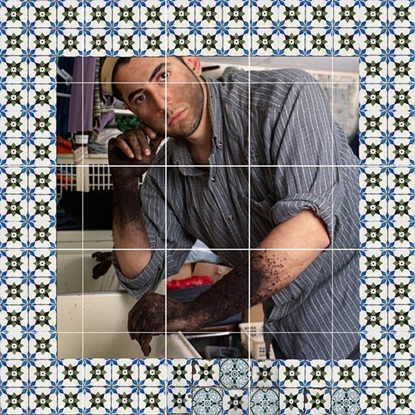 Azulejos #4 (Hands), 2007