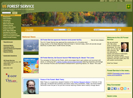 (BEFORE) US Forest Service website