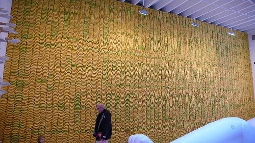 Sagmeister Banana Wall