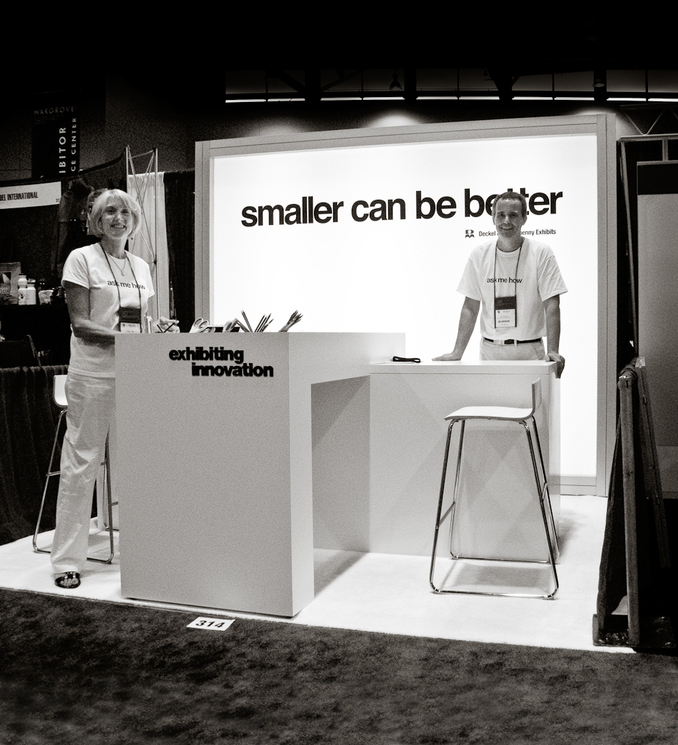 2009 Smaller Can Be Better Exhibit