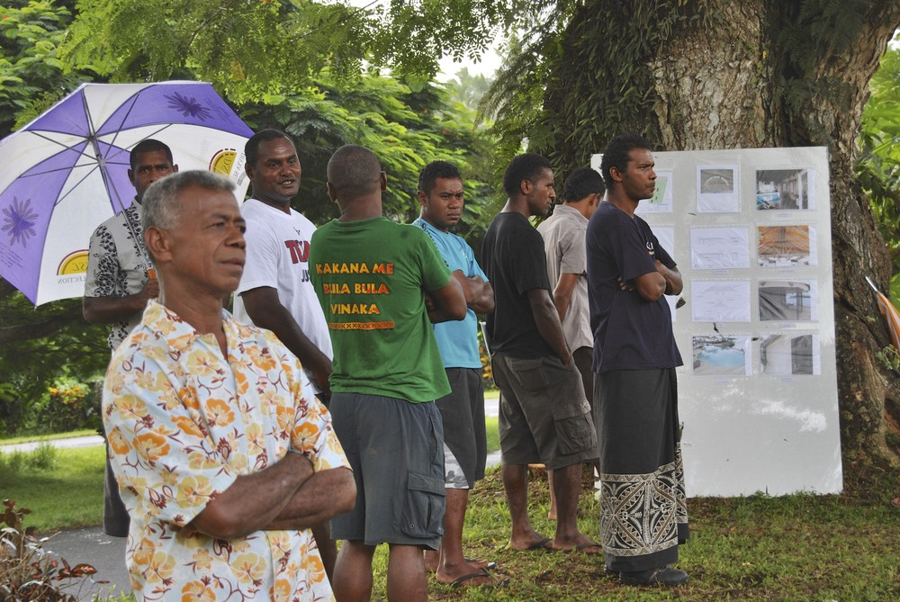 Many of our Fijian friends were present as well.  Friends of Taveuni Dive may recognize a few faces in the crowd!