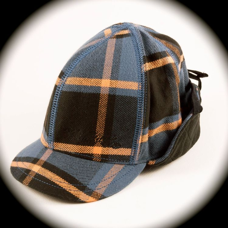 a81f4e384ee7b ORIGINAL DIESEL RUNWAY Men s Tartan Plaid Trapper Ear Flaps Hat ...