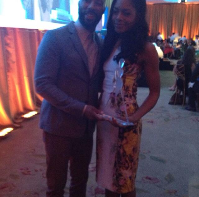 Common with Naomie Harris!