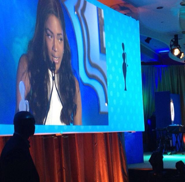 Naomie Harris honored!