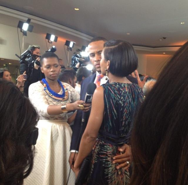 Devon Franklin and Meagan Good interviewed!