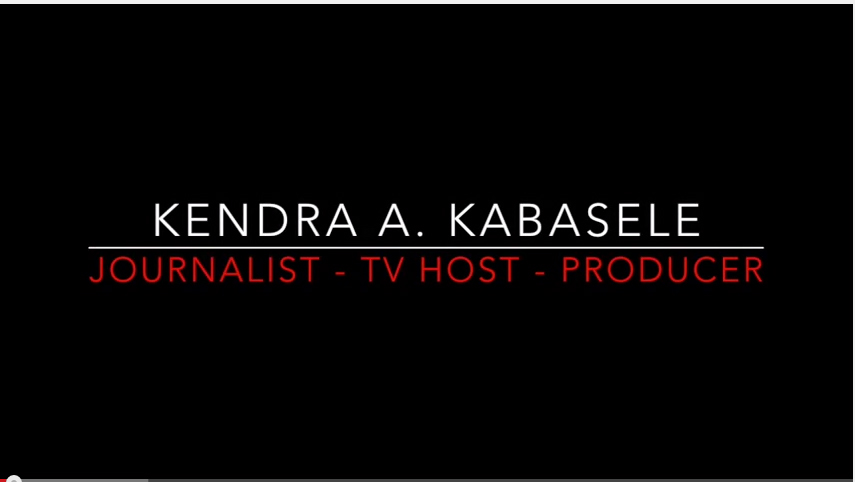 Select clips from the broadcast vault of Journalist, TV Host and Producer Kendra A. Kabasele.  For more info and to get in touch, please visit: http://www.kendrakabasele.com