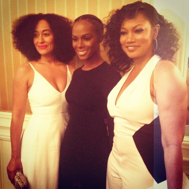 Tracee Ellis Ross, Tika Sumpter and Garcelle Beauvais