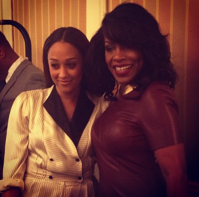 Tia Mowry-Hardrict and Sheryl Lee Ralph