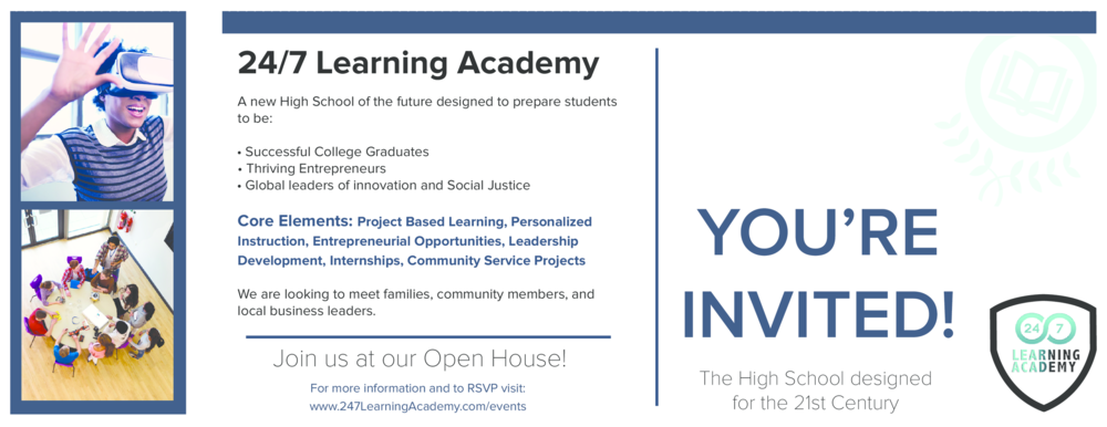 You are invited to 24/7 Learning Academy