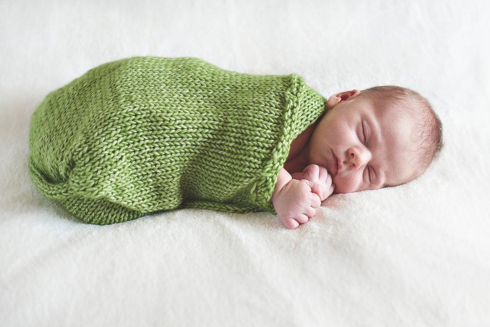 Niall Brownen Photography Newborn Sleeping Fionn