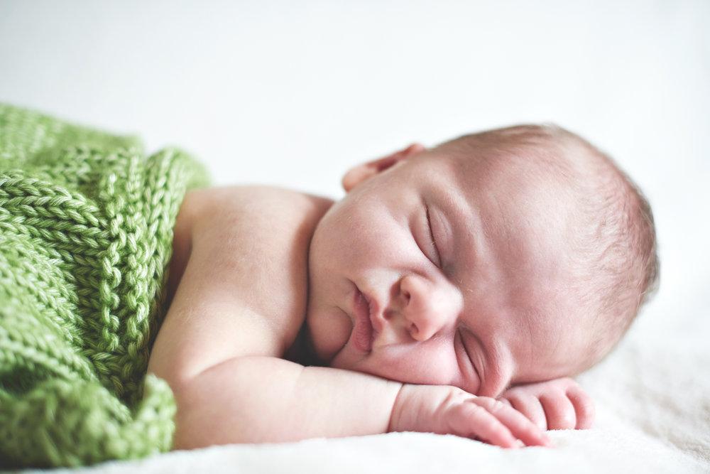 Niall Brownen Photography Newborn Portrait Sleeping Fionn