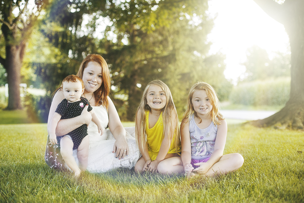 Aunt Whitney let us take a picture!!!