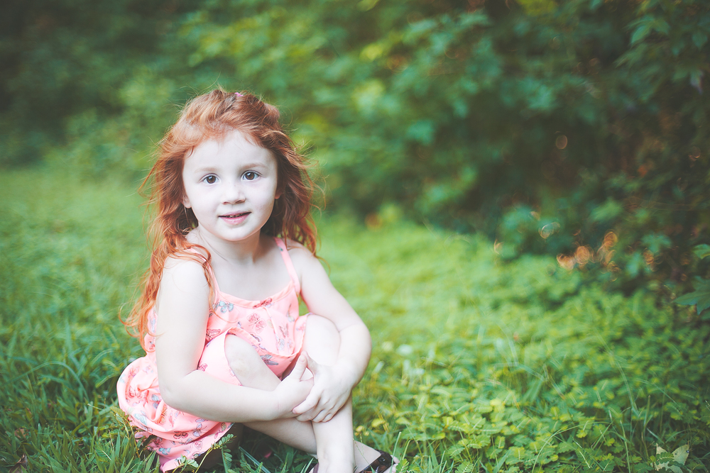 One of my sweet friends' beautiful daughters!