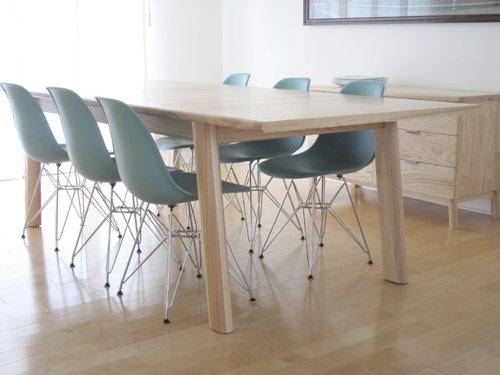 table bois massif qubec design salle manger