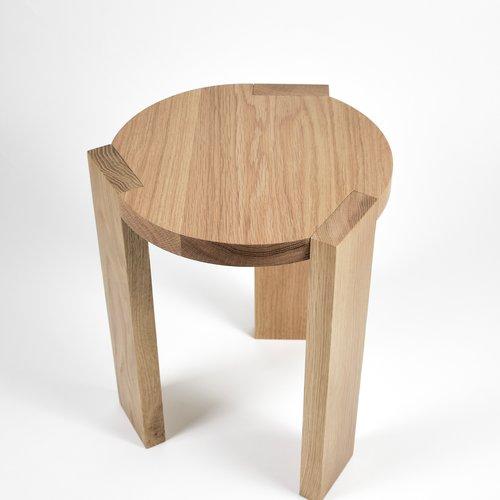 Table Et Assise Tangent Chêne Blanc Coop Etabli