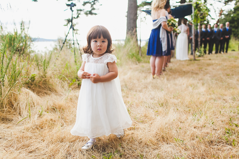 Wedding photos for Jonathan and Elian,  June 28th, 2014 on Camano Island, WA. Photos by Gabriel Boone Photography.