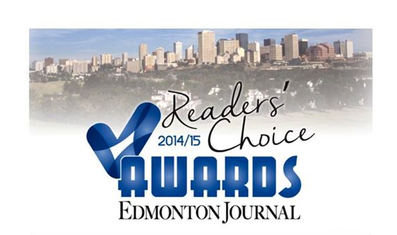 THANK YOU Edmontonians for voting us Gold        Winners in the category of Fitness Facility/Gym      with the Edmonton Journal.