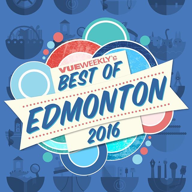 Wow!!!  We were just voted BEST FITNESS COMPANY in Edmonton with Vue Weekly three years in a row now. A huge thank you to all for being a part of what makes us so special.