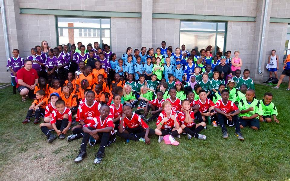 For the third year in a row, NO MORE EXCUSES through fundraising efforts will be providing the Boys and Girls Clubs of Edmonton their very own soccer league.