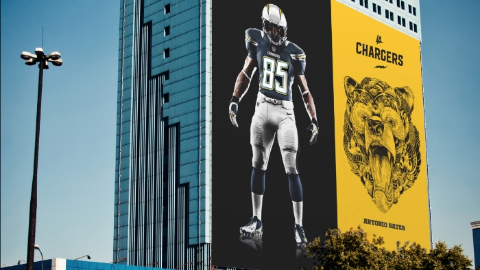Who are the LA Chargers? We asked some local street artists to paint the picture.