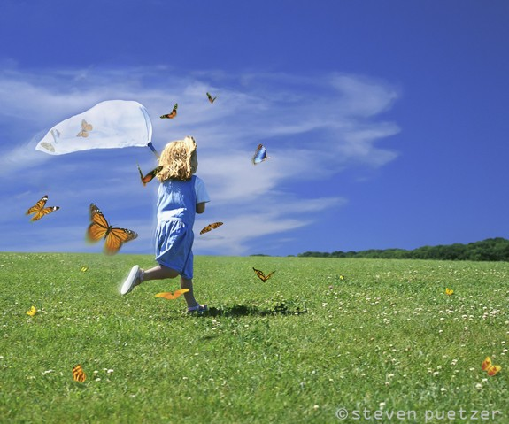 Like catching butterflies.