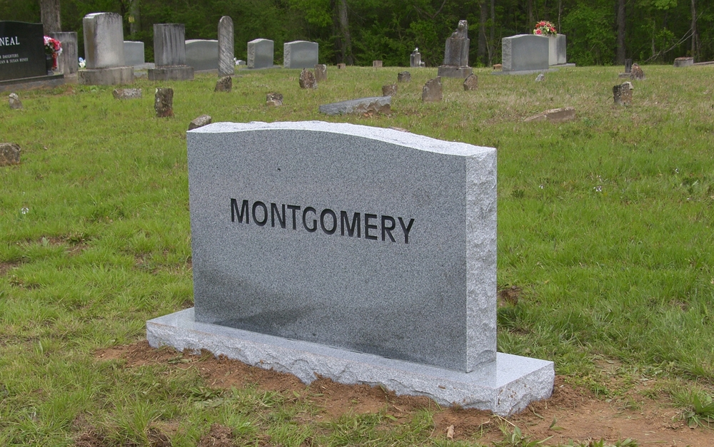 Front of The Montgomery Monument