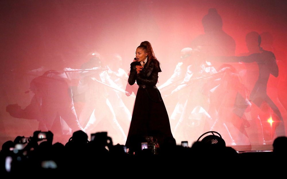 Janet Jackson performs at Scope in Norfolk on Thursday, Dec. 14, 2017