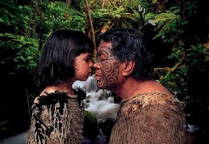 The meaning of the Hongi.  What is behind this traditional Maori greeting? A short explanation about this sacred practice.
